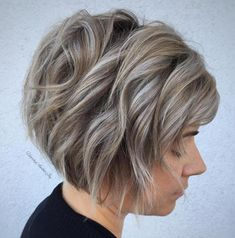 Jaw-Length Choppy Ash Blonde Bob