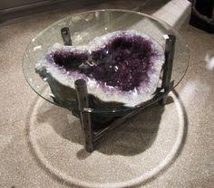 Geode in einer Glasschüssel - Deborah Wilson-Westphall - Dekoration