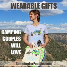 Camping Gifts Couples Will Love! Looking for unique gifts for couples who camp? We found tons of them! From amazing active gear and cool electronic devices to hip bar accessories, cute home decor, fun vehicle gadgets, sassy clothing and more!
