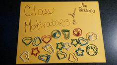 Mathspiration! A different reward since I can't use candy in the classroom!