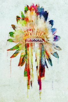 colorful-lakota-sioux-headdress-olga-hamilton.jpg (600×900)