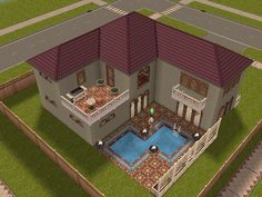 sims freeplay houses play plans floor beach lebanese inspired architecture discover