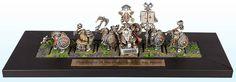 Iron Breakers from Karak Eight Peaks By Angelo Di Chello Gold 2014, Warhammer Dwarfs, Fantasy Dwarf, Fantasy Miniatures, Warhammer Fantasy, Statues, Old Things, Iron, The Unit