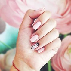 Cute Pink Nail Designs 3: Nude pink nails from @vlada_lutska. Nude pink may not be as eye-catching as hot pink nail designs but they surely work for that subtle polished look I want to have on lazy days. #pinknails #nudenails #pinkmanicure http://ift.tt/2bvT6A1