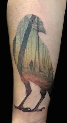 "Maaika de Jong ""Growink""   Netherlands Artwork by Andreas Lie #ink #tattoo"