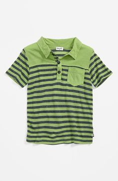 Splendid Stripe Polo (Toddler Boys) available at Nordstrom #splendideveryday