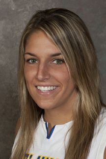 Elena Delle Donne.  She plays basketball for the University of Delaware.  We saw her play and she's AWESOME!