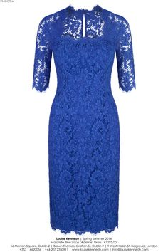 The Adeline in Majorelle Blue Lace Dress Skirt, Lace Dress, Bodycon Dress, Elegant Dresses, Beautiful Dresses, Floral Plus Size Dresses, English Dress, Dress Hats, Baby Girl Dresses