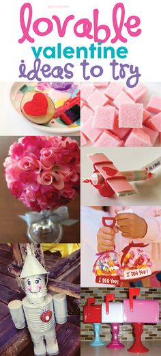 Lovable Valentine Ideas to Try - DIY crafts, gifts, and activities to do at home