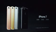 Apple is finally phasing out the iPhone. Today, as had been rumored by The Wall Street Journal, the company revealed that its new iPhone 7 will start at of storage, double the amount. Iphone 32gb, New Iphone, Iphone 7 Plus, Iphone Models, Smartphone, Product Launch, Apple, Instagram Posts, Marketing Articles