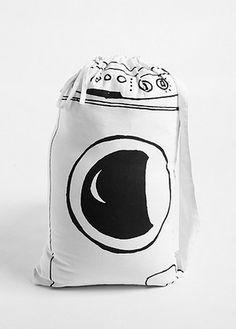 Drawstring Laundry Bag $24