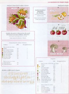 "Photo from album ""тт"" on Yandex. Cross Stitch Fruit, Small Cross Stitch, Cross Stitch Kitchen, Blog Planner, Budget Planner, Happy Planner, Cross Stitch Embroidery, Cross Stitch Patterns, File Binder"