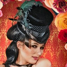 8886d09c29a The Lady Divina-Victorian-Goth-Top Hat