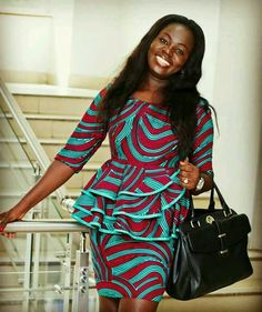 Ladies: See 45 Pictures Of Latest Ankara Styles 2017 - Od9jastyles - Latest Ankara and Aso ebi styles