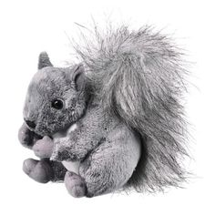 Squirrel (Conservation Critters) at theBIGzoo.com, a toy store featuring 3,000+ stuffed animals.