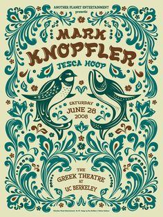 GigPosters.com - Mark Knopfler - Jesca Hoop