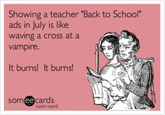 The sad thing is that I used to LOVE when it was time to shop for school supplies. Now I want to hold onto summer as long as possible!