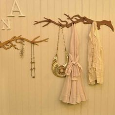 Branch Decor - Any homeowner looking to incorporate a more rustic and eco-friendly decor aesthetic into their interior space is in luck, because these unique tree. Tree Branch Decor, Tree Branches, Coat Tree, Clothes Hooks, Unique Trees, Got Wood, Scandinavian Art, Home Wallpaper, Home