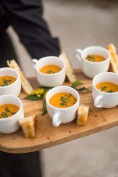 Comfort Food - Gorgeous Fall Wedding Ideas For Your Special Day - Photos
