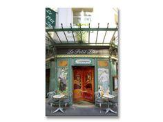 Paris Photography on Canvas  Le Petit Zinc by ParisianMoments