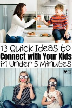 Use these ideas from Coffee and Carpool to connect with your kids in meaningful ways so quality family time doesn't feel like a chore or feel so hard. Connection leads to better behavior, better relationships, and kinder siblings. Parenting Done Right, Kids And Parenting, Parenting Hacks, Boredom Busters For Kids, The Kissing Hand, Kindness Activities, Advice For New Moms, Bullying Prevention, Meaningful Conversations