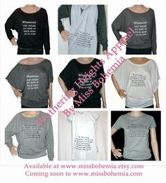 Miss Bohemia: Wuthering Heights Apparel for Book Lovers at Miss Bohemia