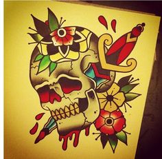 Flash New Tattoos, Cool Tattoos, Awesome Tattoos, Ma Tattoo, Tattoo Art, Flash Sketch, Traditional Style Tattoo, American Traditional, Sports Art
