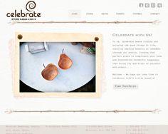 Sea Salt Web Development Celebrate Events Website