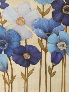 """ By Manuela Jarry "" Flower Painting Canvas, Fabric Painting, Painting & Drawing, Watercolor Paintings, Original Paintings, Emblem, Painted Paper, Gravure, Acrylic Art"
