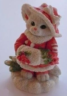 "Enesco Calico Kittens ""Winter Wonderland""   eBay"