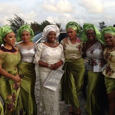 African Sweetheart: Wedding Style: The Fabulous Wedding Of Sarah And Ugonna African Wedding Dress, African Weddings, White Weddings, Bridesmaid Dresses, Wedding Dresses, African Beauty, Wedding Styles, Culture, Traditional