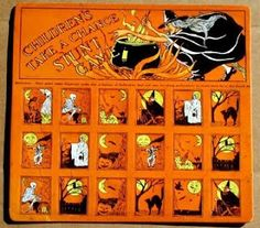 Vintage Halloween Collector: Countdown to Halloween - Oct. 15th: Vintage Halloween Games at eBay #1