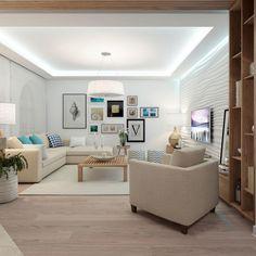 Inspirace obývací pokoj - INTERIÉR SEA Cozy Room, Home Hacks, Bean Bag Chair, New Homes, Living Room, Modern, Furniture, Ceilings, Interior Ideas