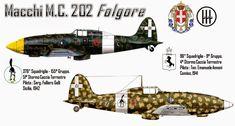 "Macchi C.202 Folgore (Italian ""thunderbolt"")"