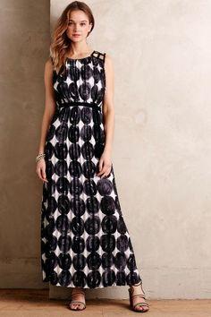 Inkwash Maxi Dress - anthropologie.com