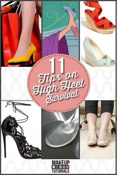 Pour pouvoir porter des talons hauts / To wear high heels ♤Melyk