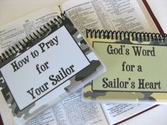 How to Pray for Your Sailor, God's Word for a Sailor's Heart