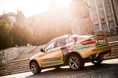 Studio Videochat Bucuresti cu BMW X6 aurii