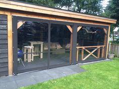 Backyard Pavilion, Outdoor Pavilion, Outdoor Spaces, Outdoor Living, Modern Gazebo, Patio Deck Designs, Patio Enclosures, Outdoor Cover, Corner Garden