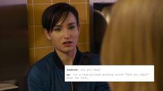"""""""Audrey Jensen as text posts (1/?) """""""