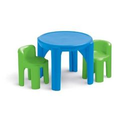 Little Tikes table and chairs set.  $45.99 on sale at Amazon
