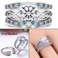 EverMarker Wow, such beautiful ring sets!!!!
