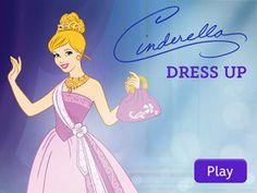 Superb Disney Princess Cinderella Dress Up App