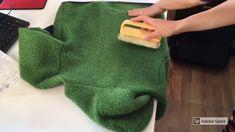 How to brush an Engel wool fleece jacket/ Cum sa periem o jacheta de fleece de lana de la Engel Wool, Jackets, Clothes, Fleece Jackets, Down Jackets, Clothing, Kleding, Jacket, Outfit