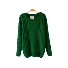 Batwing Sleeved Net Green Sweater (1,125 DOP) ❤ liked on Polyvore featuring tops, sweaters, bat sleeve tops, net tops, green sweater, green top and net sweater