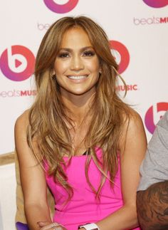 Jennifer Lopez uses a foundation brush for a soft and delicate airbrushed look. // #Beauty #Tips