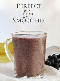 Avocado Blueberry Smoothie Recipe | i am baker