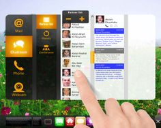 UI - Interactive Residence Management in 2006 by adam boros, via Behance