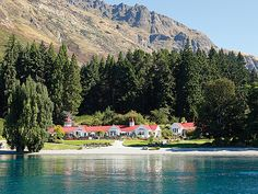 Enjoy evening dinner at the lakeside Colonel's Homestead, Walter Peak, Queenstown, New Zealand