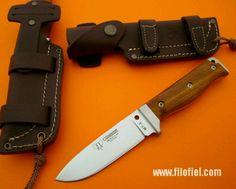 Leather sheath design idea